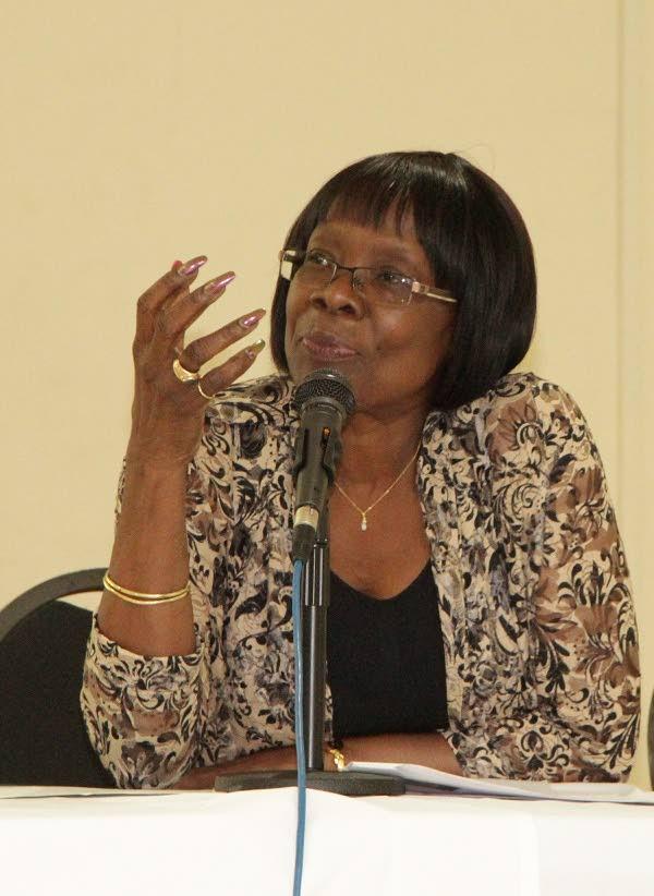 Health Secretary Dr Agatha Carrington  -
