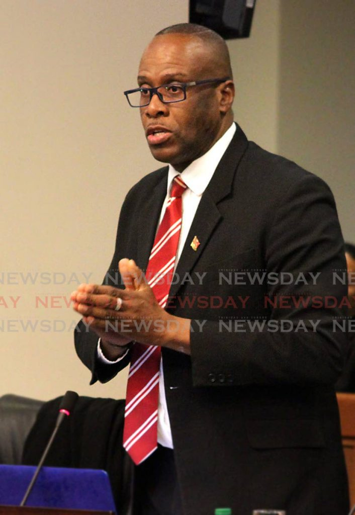 Independent Senator Paul Richards. -