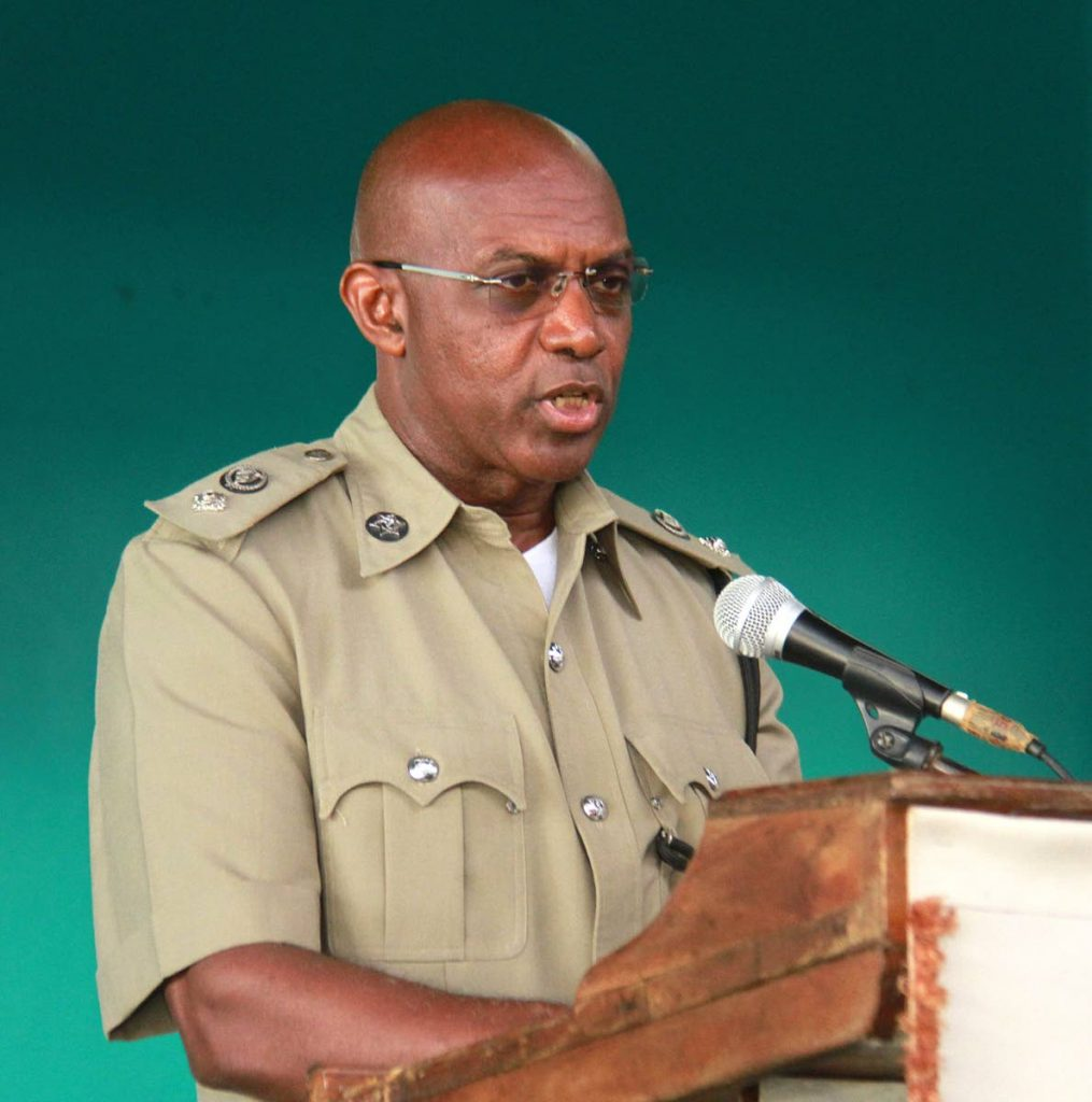 Deputy Commissioner of Police Jayson Forde. -