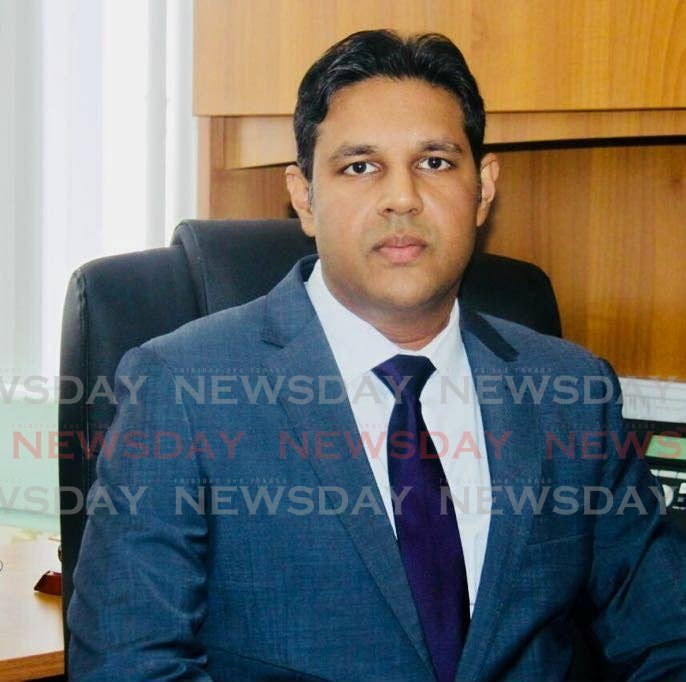 Chief Medical Officer Dr Roshan Parasram. -