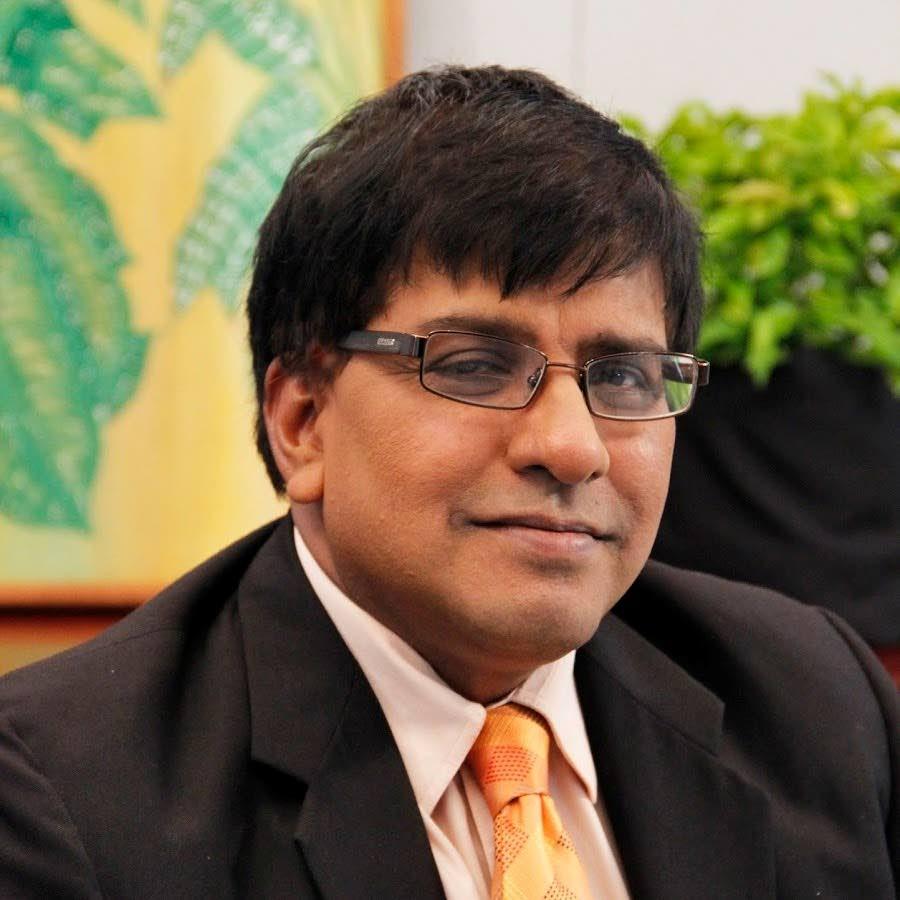 Political scientist Dr Bishnu Ragoonath  -