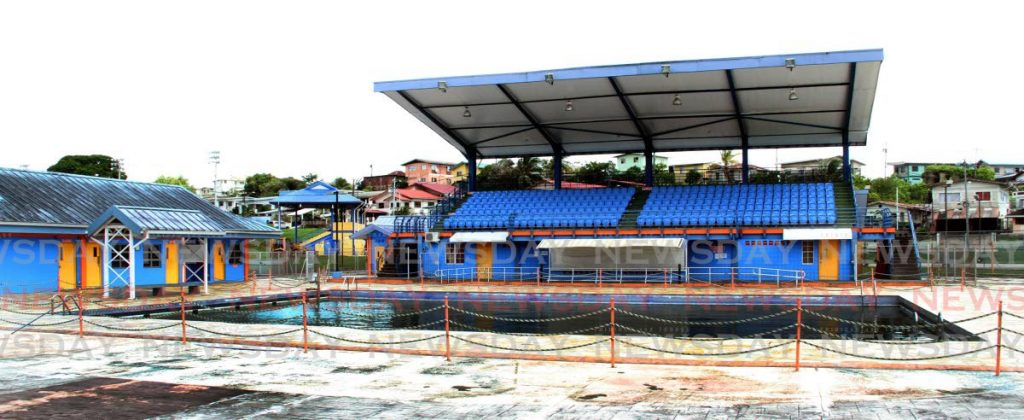 The community swimming pool which has not been in operation for a year.   - Vashti Singh