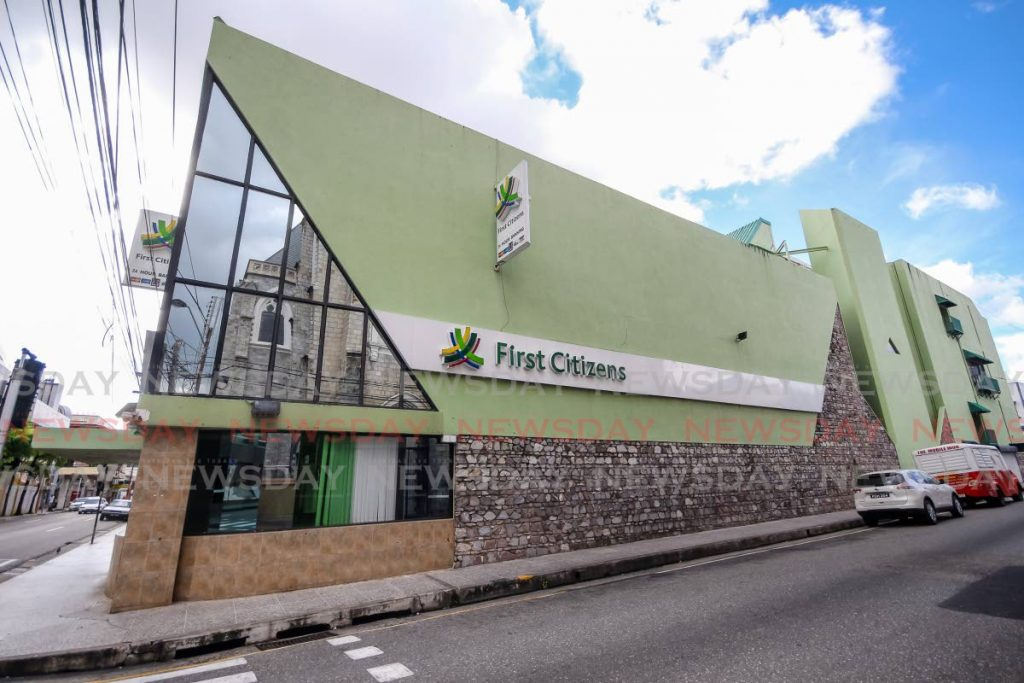 First Citizens branch on Park Street, Port of Spain. - JEFF K MAYERS
