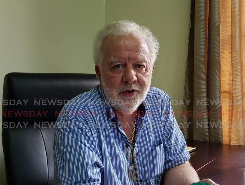 Tobago Hotel and Tourism Association president Chris James  -