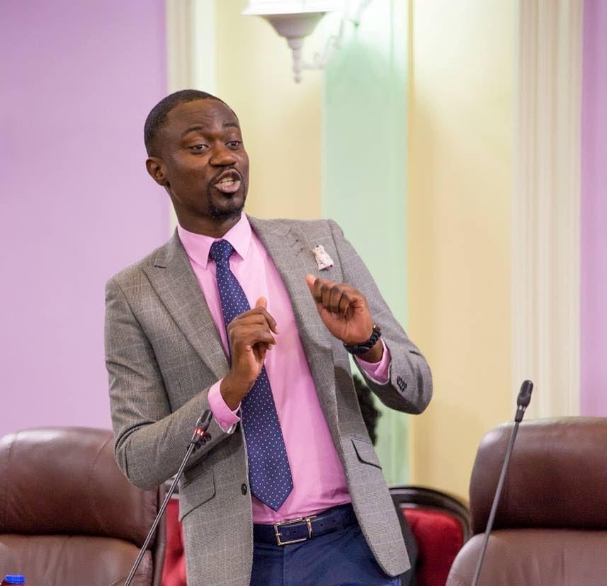 Minority Assemblyman Farley Augustine -