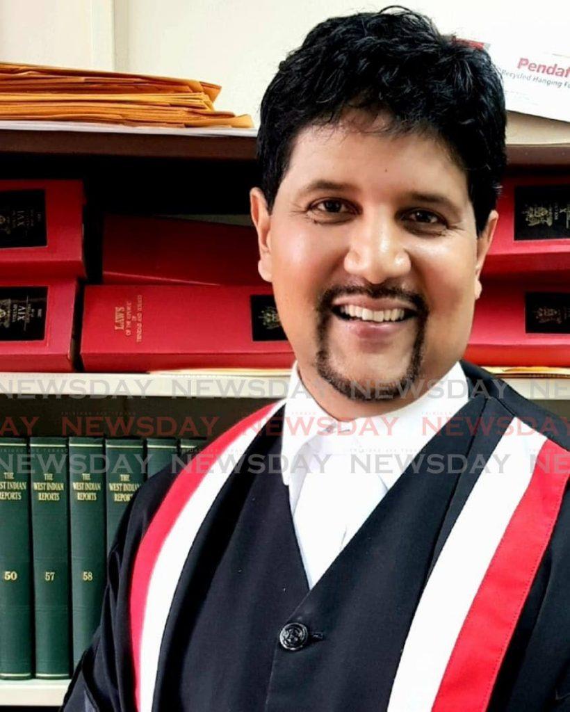Justice Frank Seepersad -