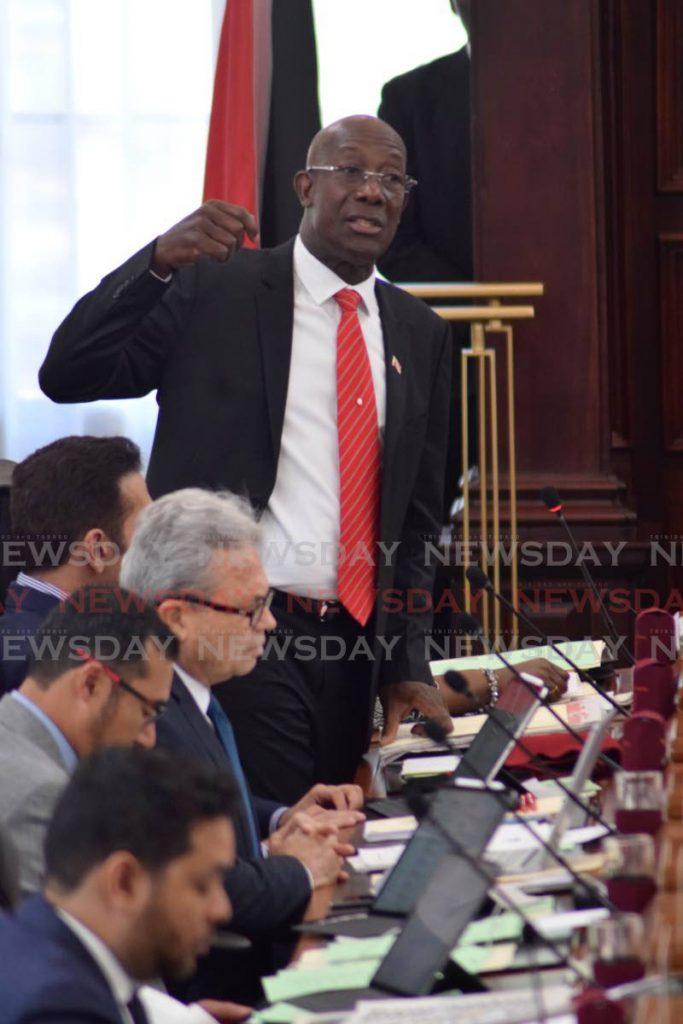 Prime Minister Dr Keith Rowley. - Vidya Thurab