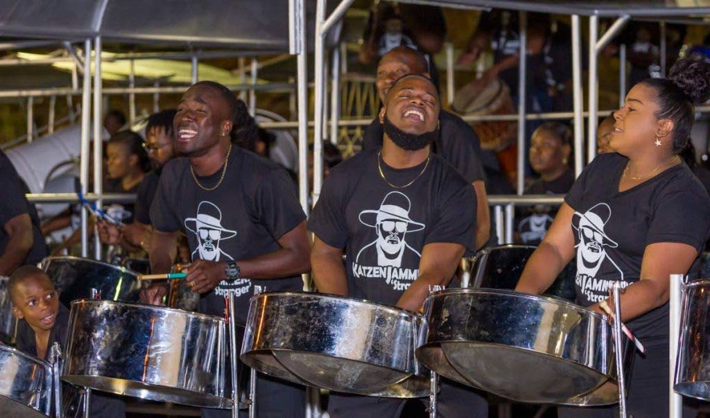 Katzenjammers Steel Orchestra had a strong performance in the preliminaries of the Panorama medium band category on Saturday evening.  -
