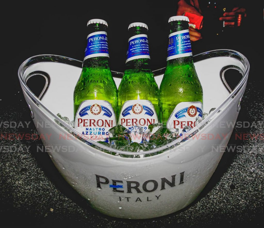 Peroni beer is described as 'drinking a Ferrari in a bottle'.  - ROGER JACOB