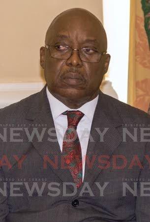 Chief Secretary Kelvin Charles -