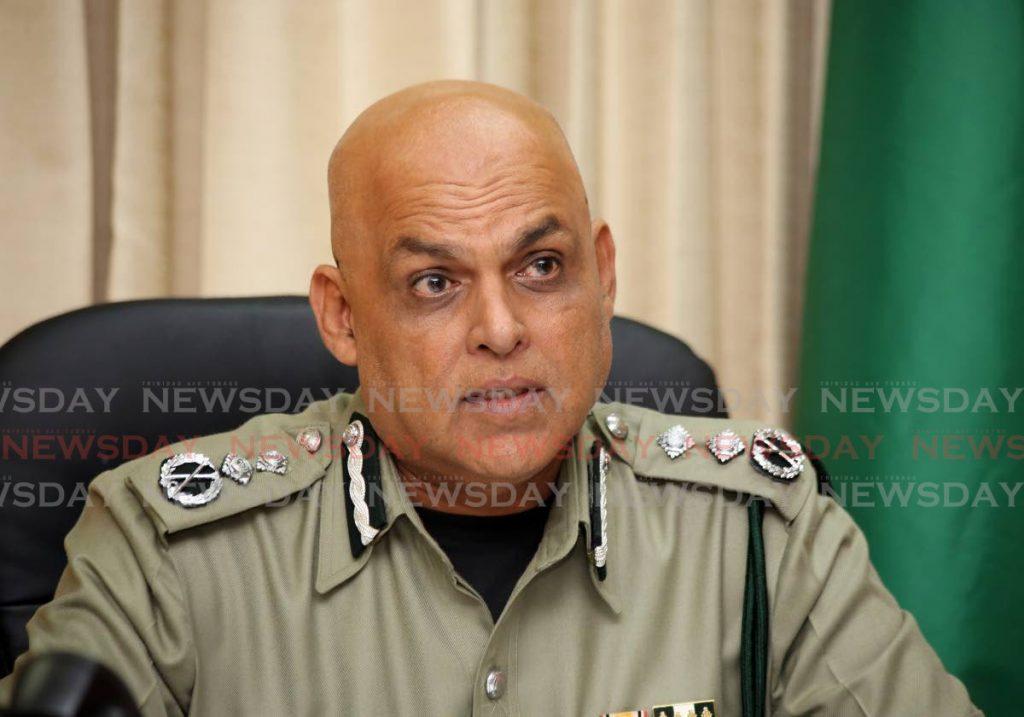Prison Commissioner Dennis Pulchan. - SUREASH CHOLAI