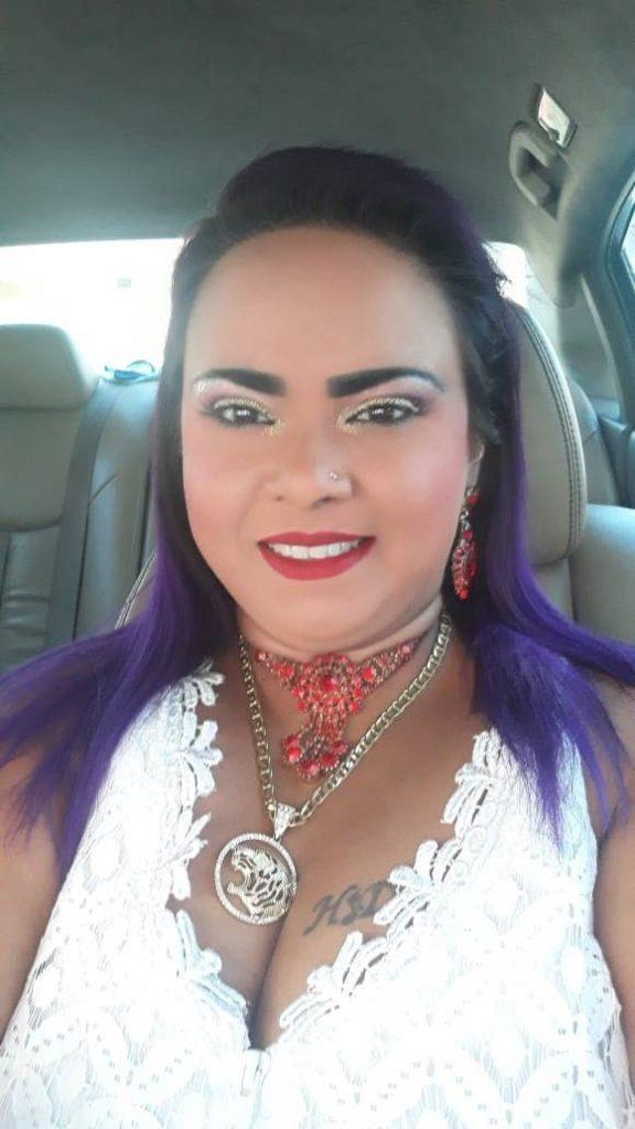 Chutney singer Hurricane Hemlatha Dindial. Photo courtesy Hemlatha Dindial -