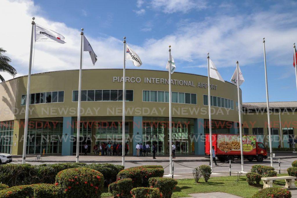Trinidad's Piarco International Airport.  - JEFF K MAYERS