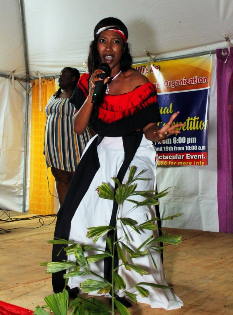 Meguella Simon is the winner of the Marabella Community Calypso Competition. Simon's wnning song is titled Speak Life. - Kenwyn Lee Fai