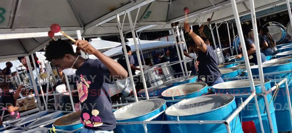 Courts Sound Specialists of Laventille is among the finalists in the Panorama medium band category which takes place on February 16 at the Dwight Yorke Stadium. -