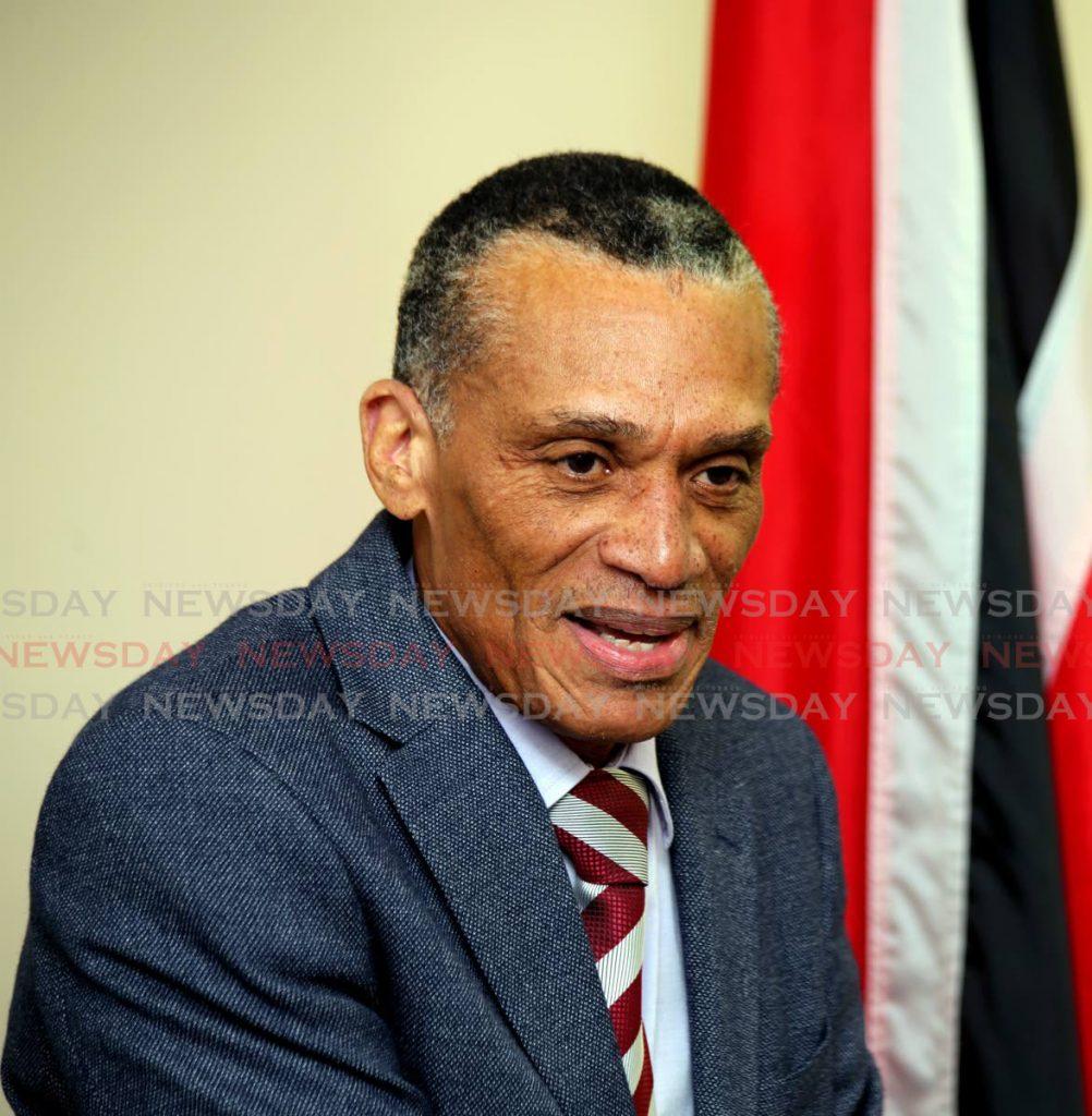 Minister of Foreign and Caricom Affairs, Dennis Moses   - SUREASH CHOLAI