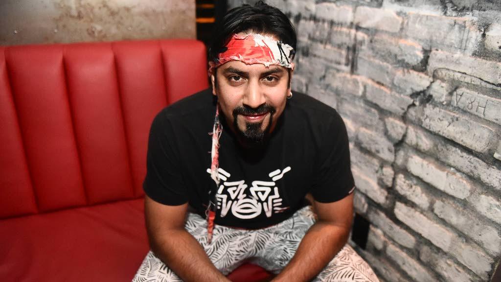 Musician/producer Keshav Singh -