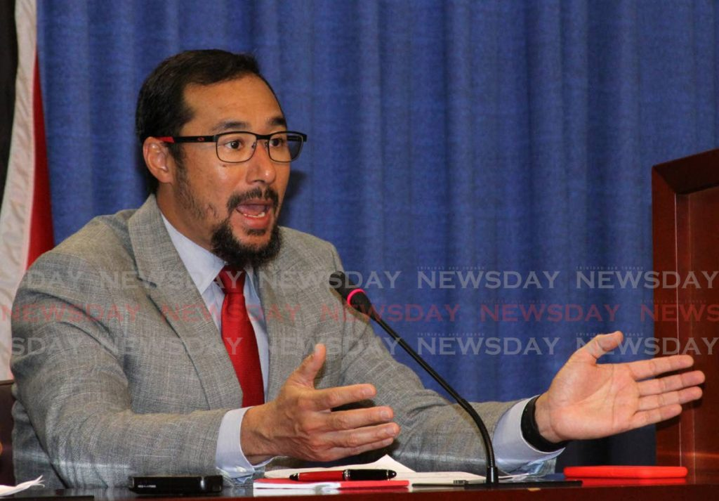 Minister of National Security Stuart Young  - ANGELO MARCELLE
