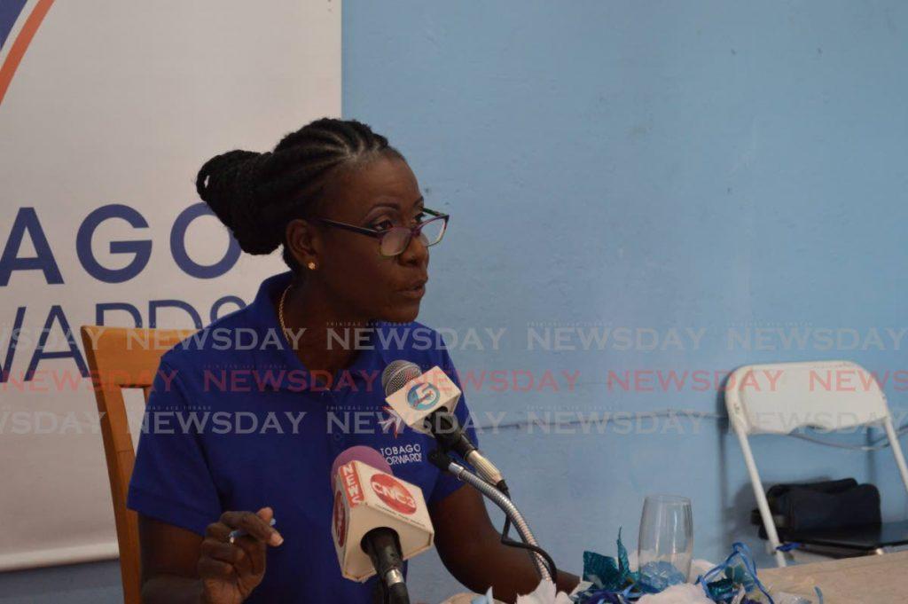 Tobago Forwards political leader Christlyn Moore -