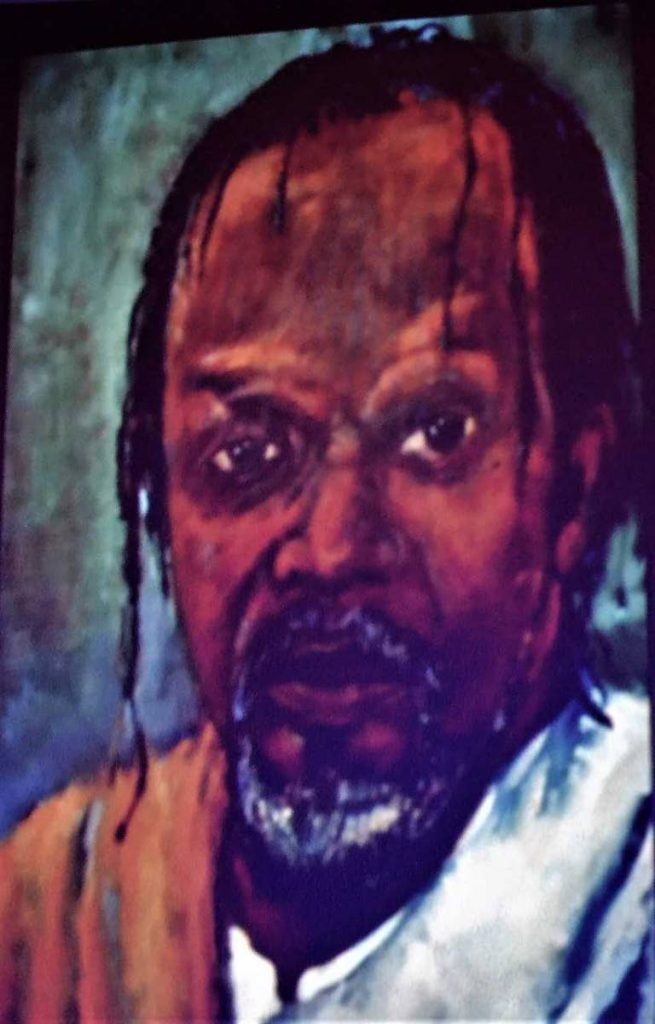 A portrait of Ras Shorty I from the Heritage Series. -