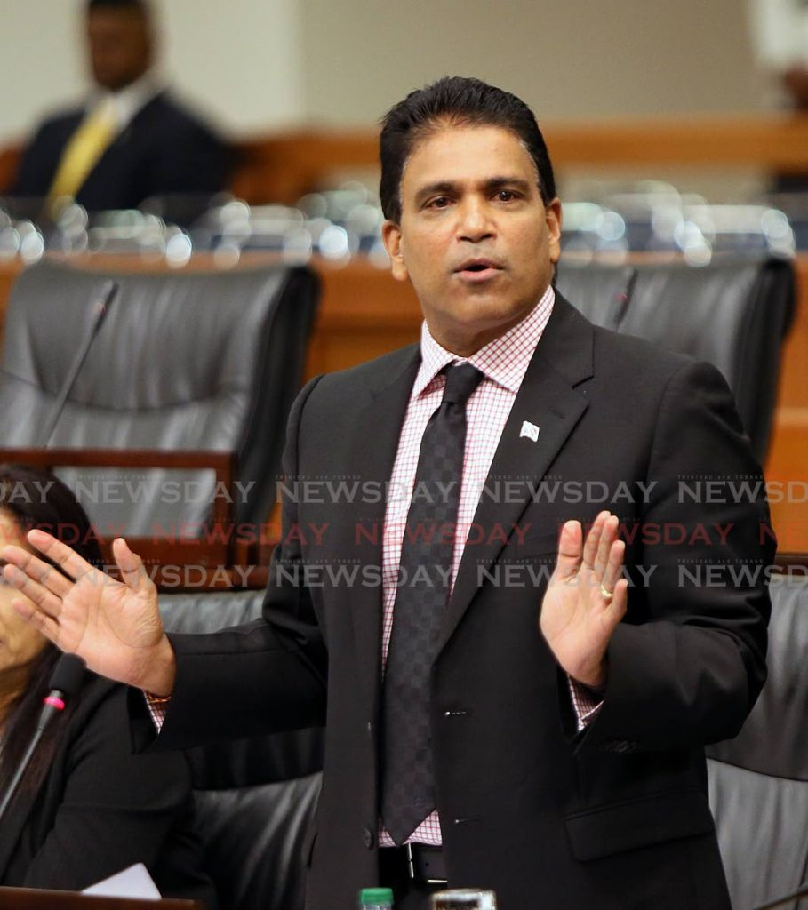 Oropouche East MP Dr Roodal Moonilal  -