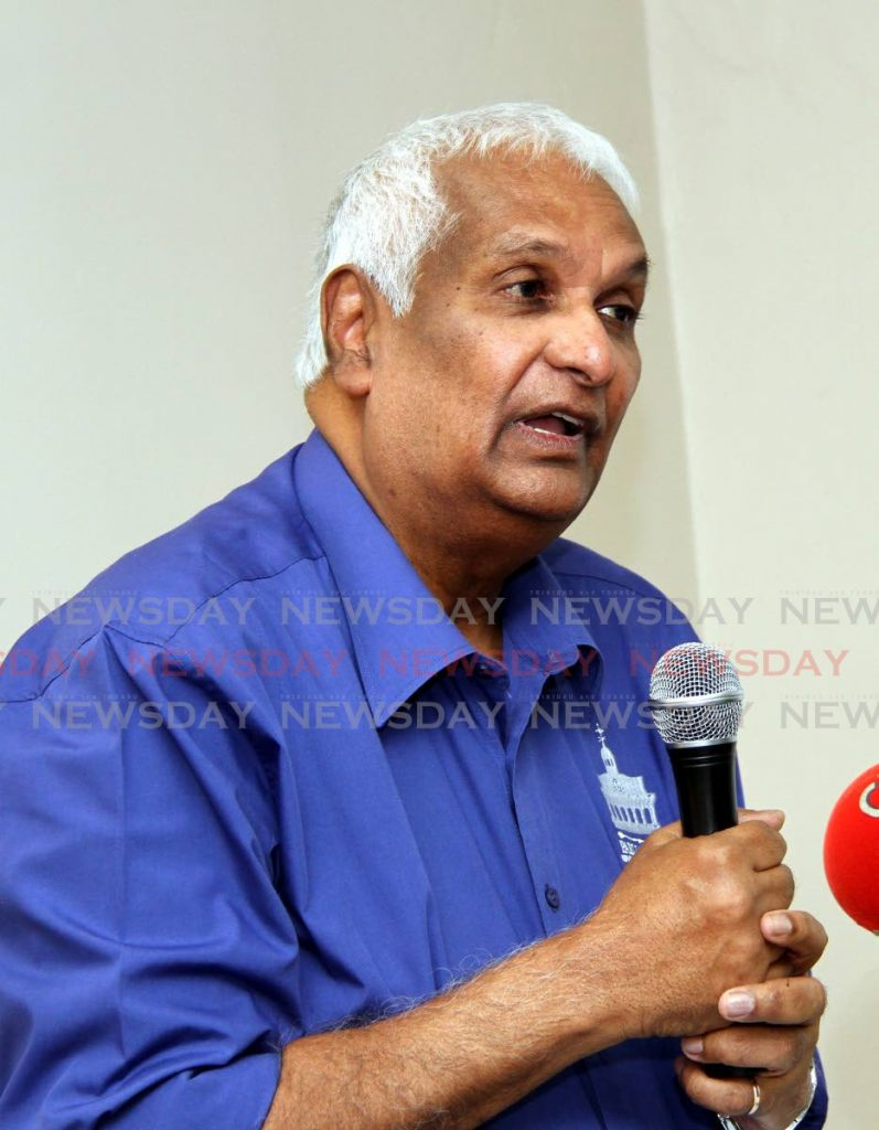 Former foreign affairs minister Winston Dookeran. -