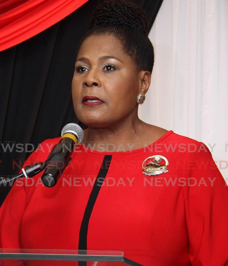 President Paula-Mae Weekes - ANGELO MARCELLE