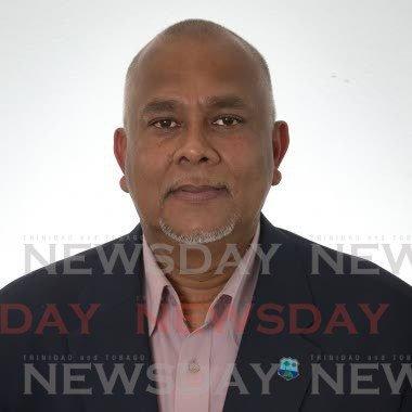 TT Cricket Board president Azim Bassarath. -