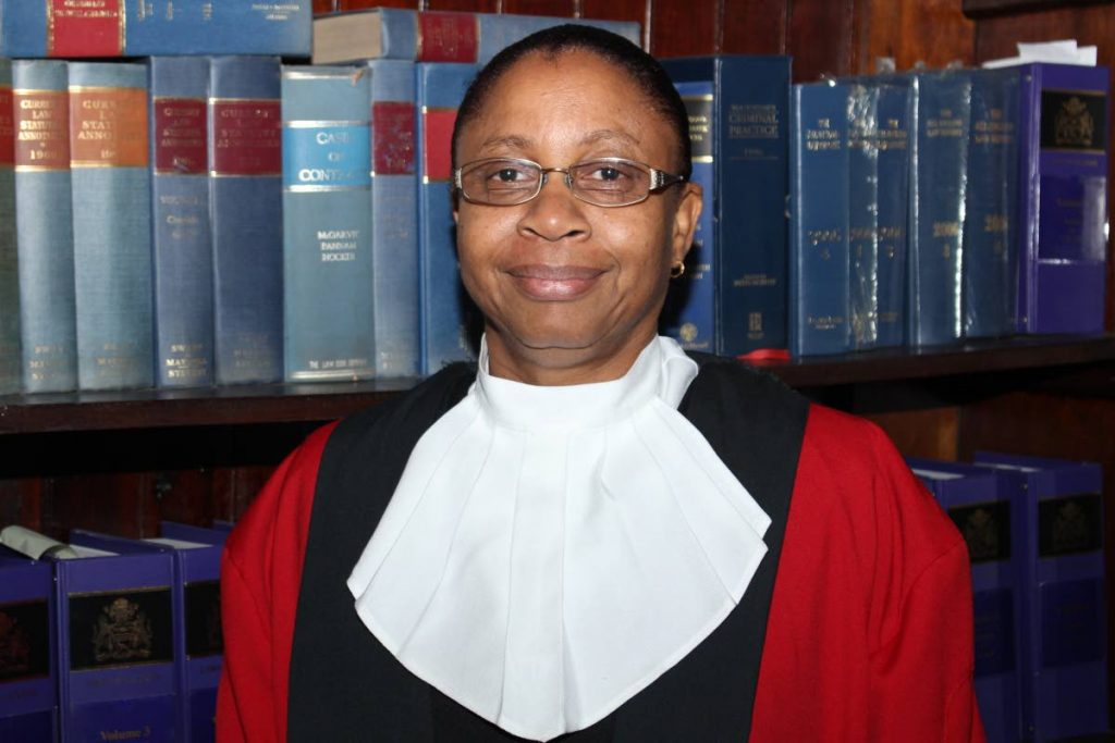 Guyana's Acting Chief Justice Roxane George-Wiltshire. -
