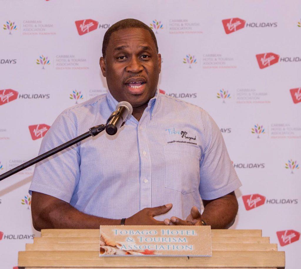 Tobago Tourism Agency CEO Louis Lewis.  -