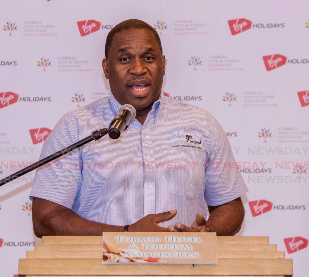 Tobago Tourism Agency CEO Louis Lewis. - DAVID REID