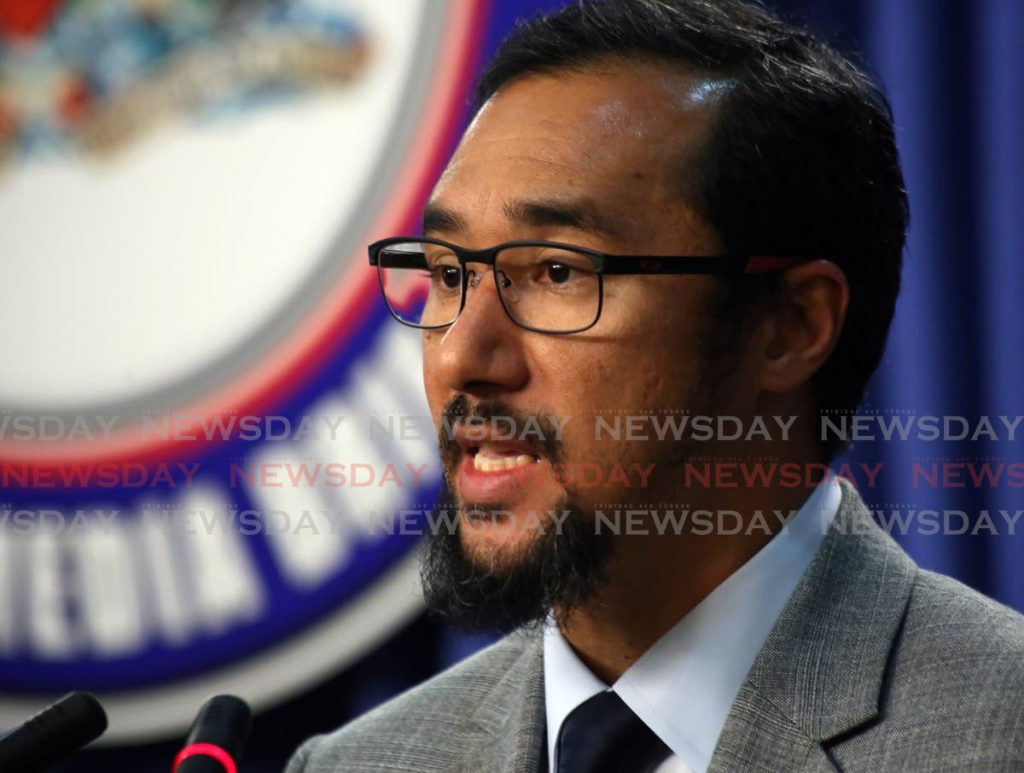 National Security Minister Stuart Young. -