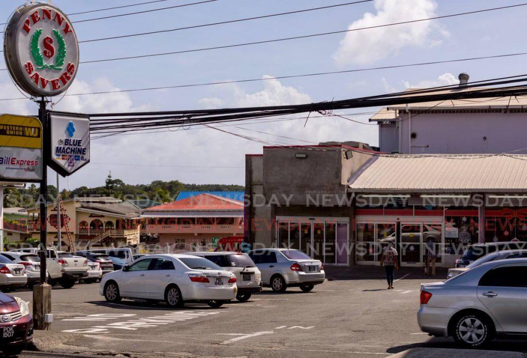 Penny Savers supermarket in Carnbee. -