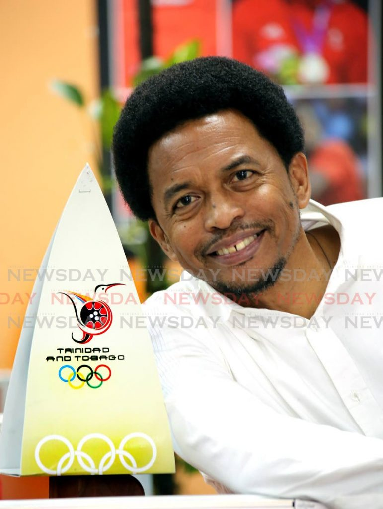 TT Olympic Committee and TT Commonwealth Games Association president Brian Lewis. - SUREASH CHOLAI