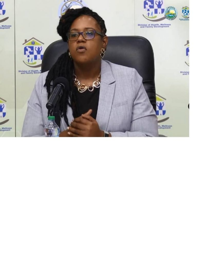 Dr Tiffany Hoyte, Ag County Medical Officer of Health. -