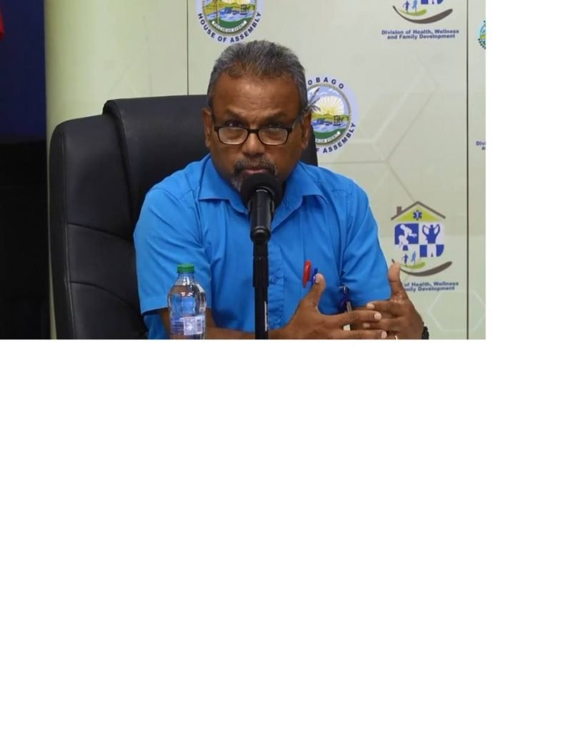 Dr Ian Sammy, head, Accident and Emergency Department, Scarborough General Hospital. PHOTO COURTESY DIVISION OF HEALTH  -