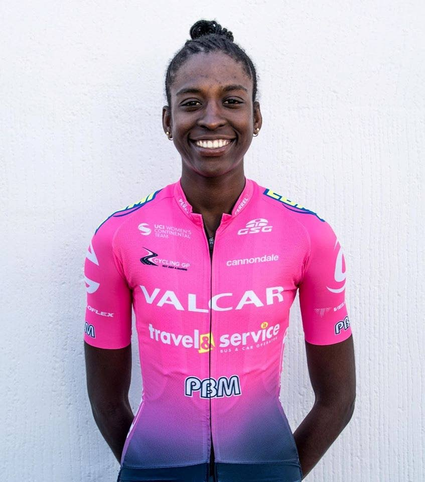 Italy-based TT cyclist Teniel Campbell -