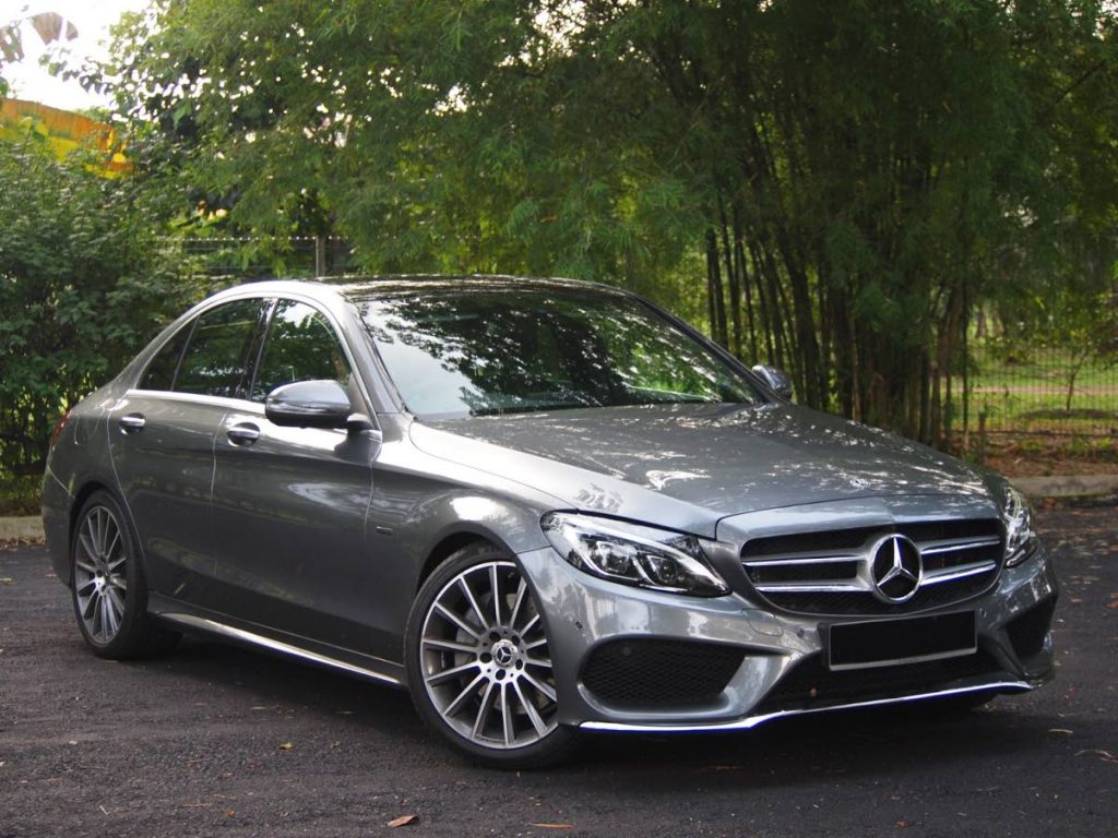 A Mercedes Benz C-350, similar to the one seen in this photo, could potentially become the topic of a court battle between a businessman and his son-in-law after the latter refused to give the car back to the former after deciding to divorce the businessman's daughter.   -