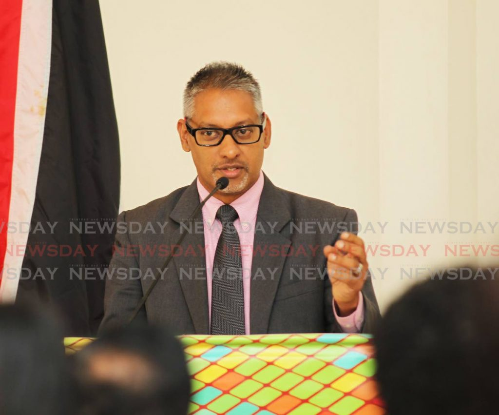Minister of Agriculture, Land and Fisheries Clarence Rambharat - Lincoln Holder