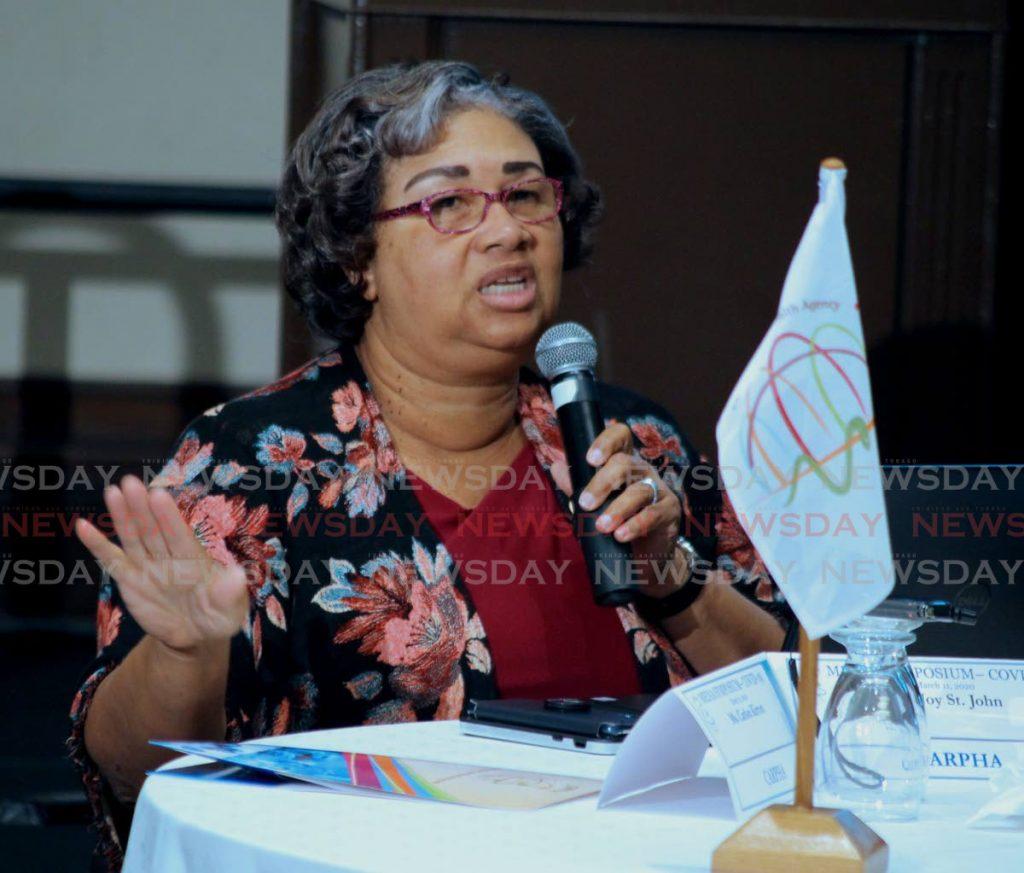 File photo: Executive Director of CARPHA Dr Joy St John.