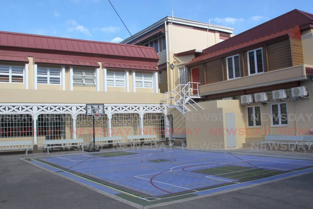 Maria Regina Private School in Port of Spain. - ROGER JACOB