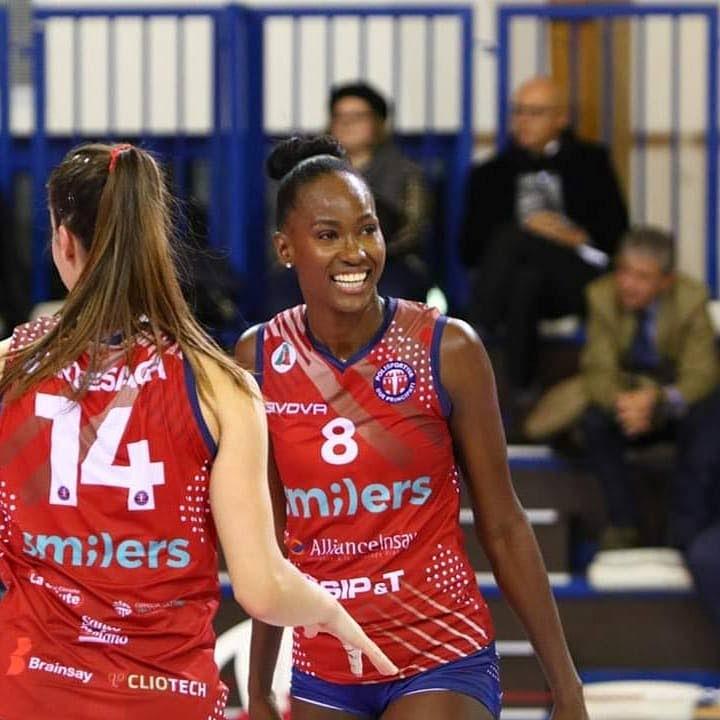 TT volleyballer Krystle Esdelle -