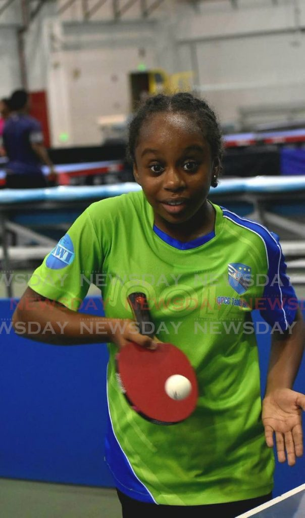 Chloe Fraser has won several titles in the under-15, 13 and 11 table tennis tournaments in 2019.  -