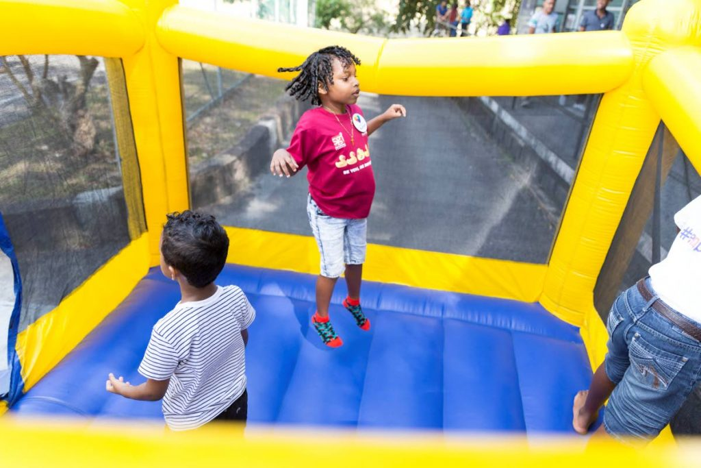 Keep children away from public play parks.  -