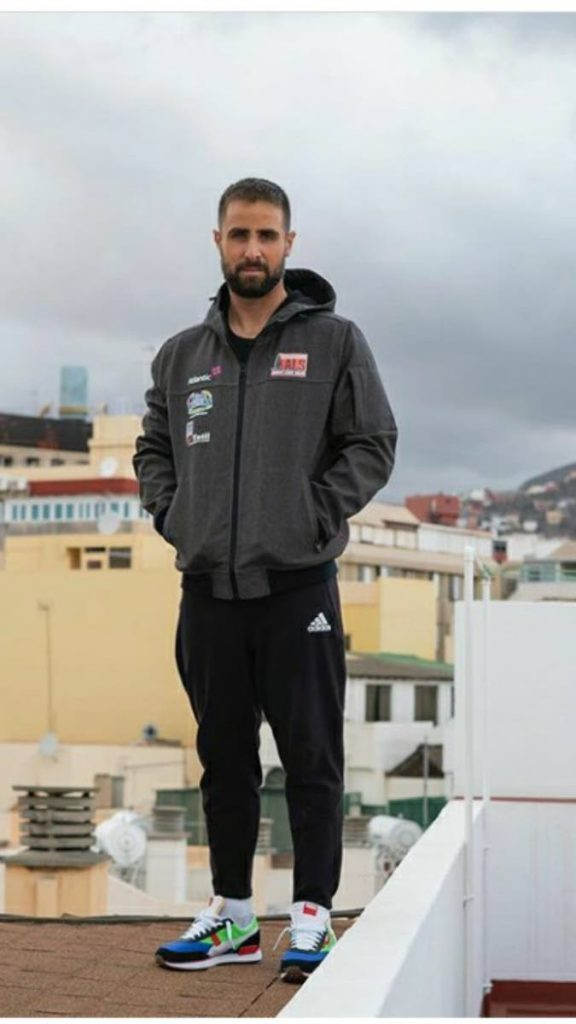 TT's Andrew Lewis in Spain  -