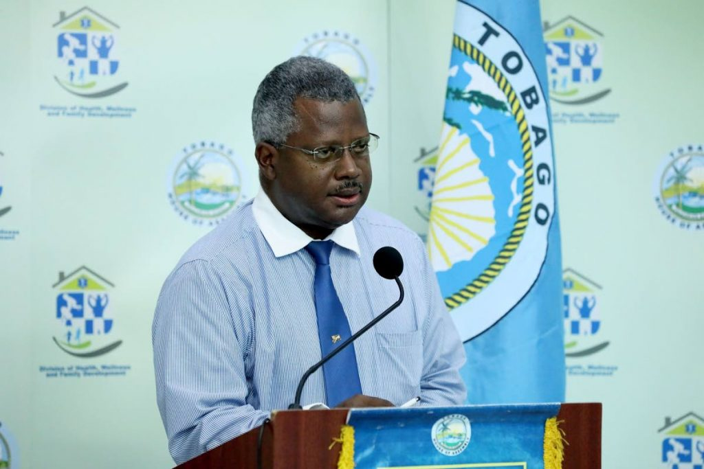 Acting Medical Chief of Staff Dr Victor Wheeler. PHOTO COURTESY THA -