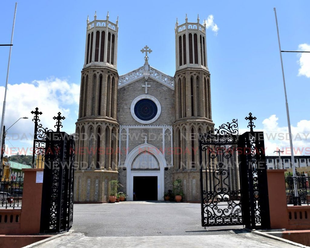 The Cathedral of the Immaculate Conception in Port of Spain .Photo by Vidya Thurab