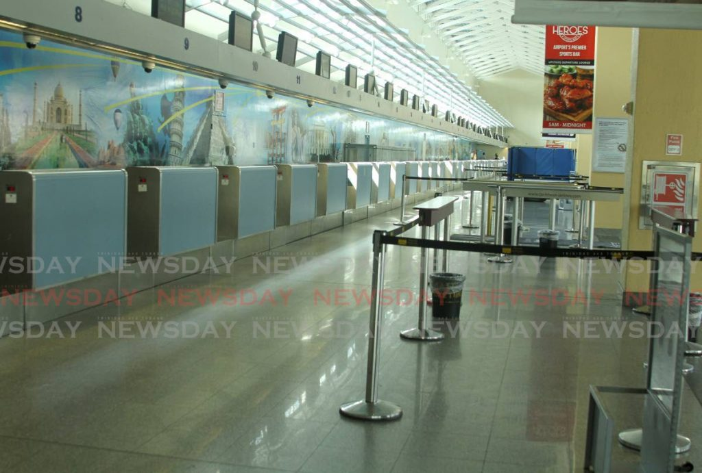 Piarco International Airport   PHOTO BY AYANNA KINSALE -