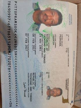 Jagdesh Ramsook , TT citizen stranded in Venezuela  -
