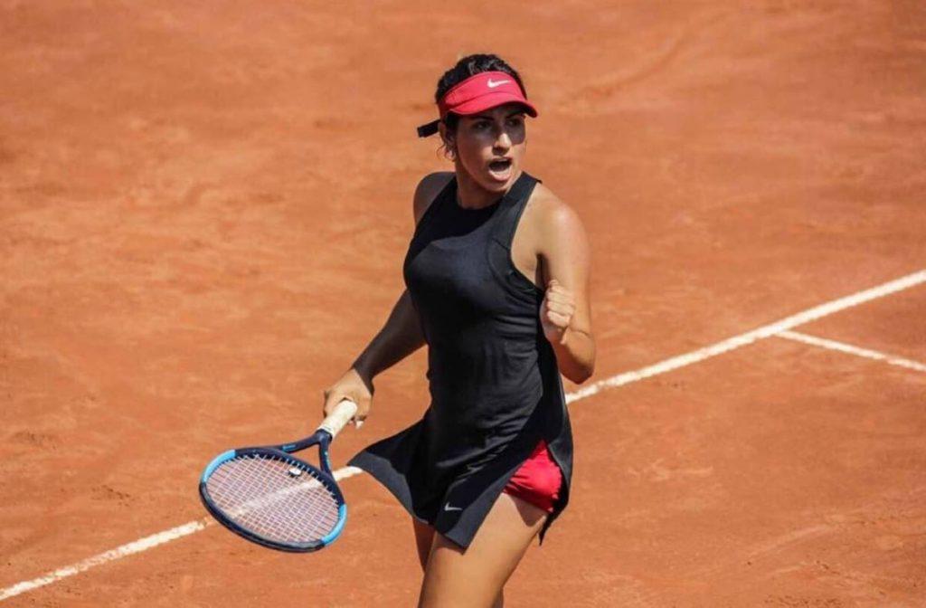 TT-based Miami tennis player, Breana Stampfli -